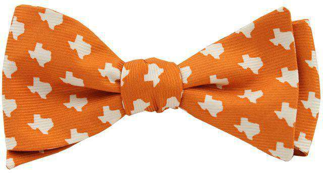 Texas Gamedy Bowtie in Orange by State Traditions and Southern Proper