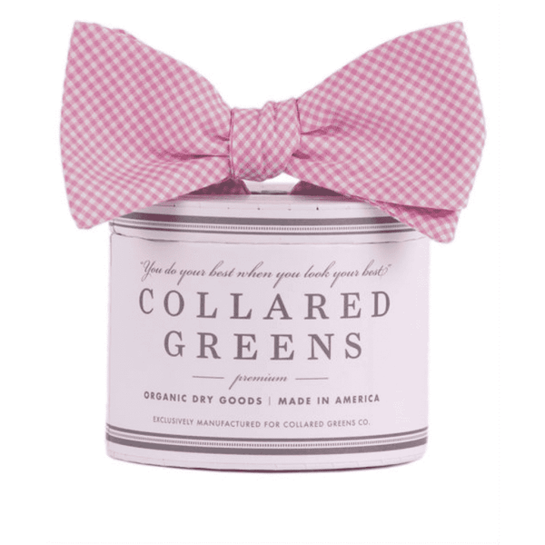 Bow Ties - The Barbaro Bow In Pink By Collared Greens