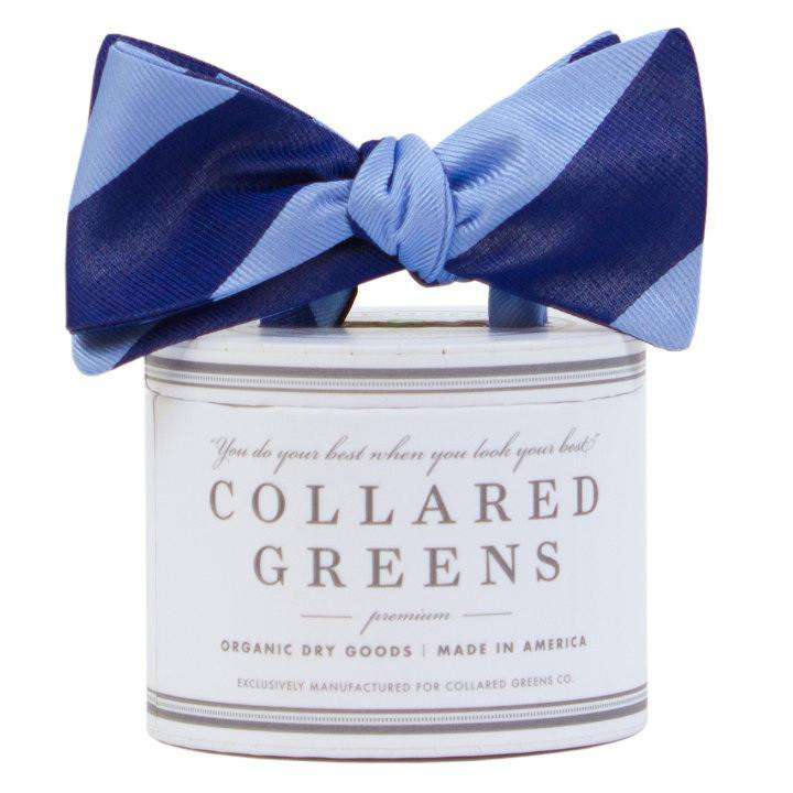 Bow Ties - The Benthaven Bow In Carolina/Navy By Collared Greens