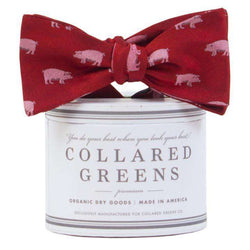 Bow Ties - The Collegiate Bow In Navy/Gold By Collared Greens