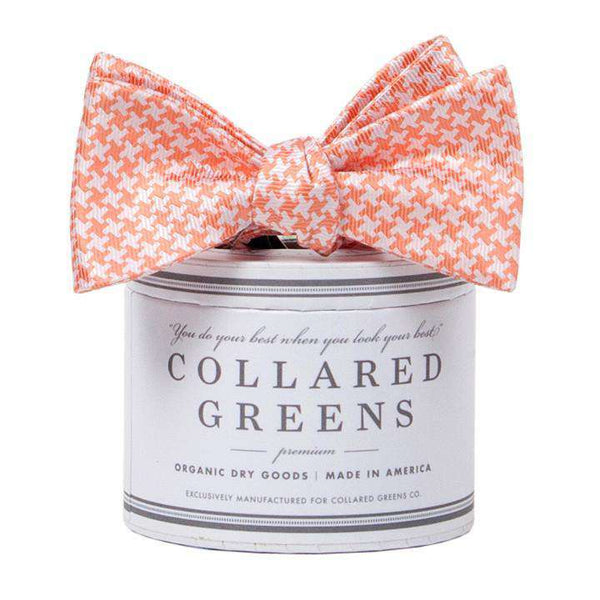 The Gatsby Bow in Orange by Collared Greens