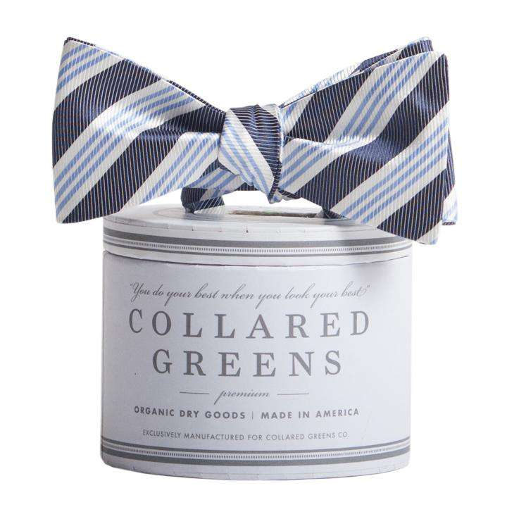 The Homestead Bow in Navy and Blue by Collared Greens