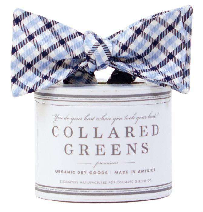 The Mitchell Bow in Carolina/Navy by Collared Greens