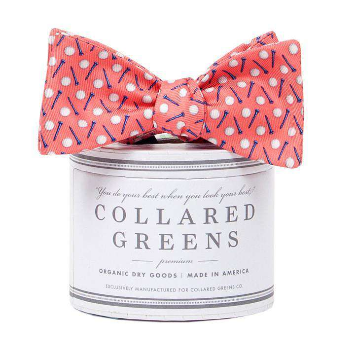 Bow Ties - The Pebble Bow In Pink By Collared Greens