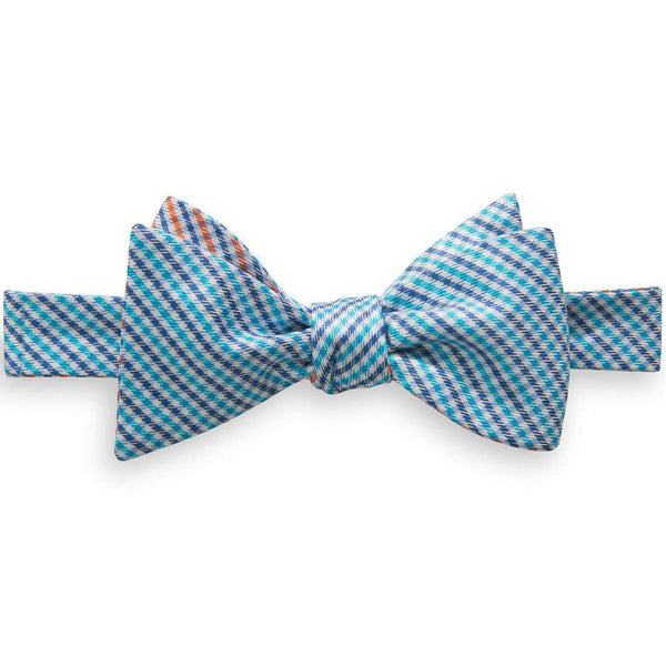 f8596880e8b6 Bow Ties - The Prep School Gingham Reversible Bow Tie In Aqua By Southern  Tide
