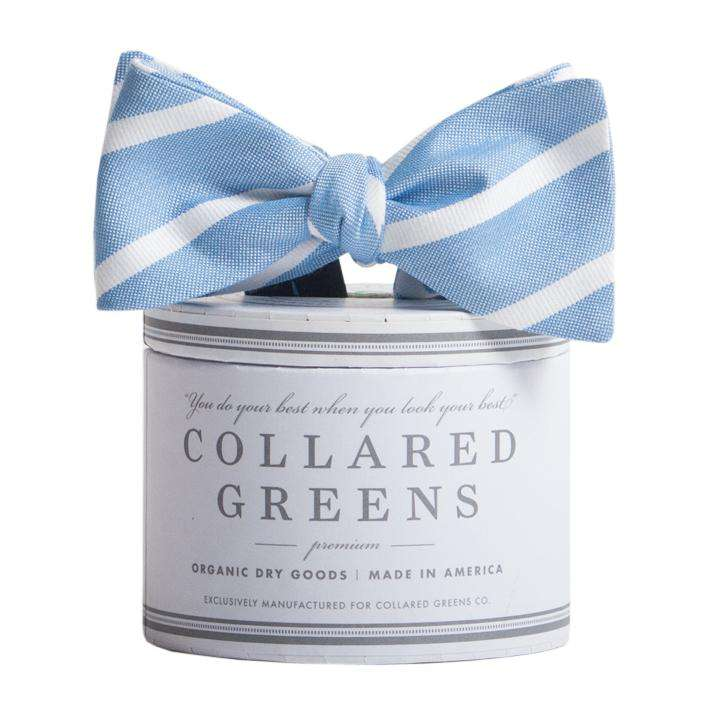 The Sawgrass Bow in Blue and White by Collared Greens