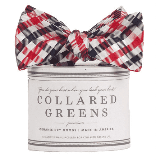 The USA Quad Bow in Red, White and Blue by Collared Greens