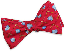 Bow Ties - Trophy Room Bow Tie In Red By Bird Dog Bay