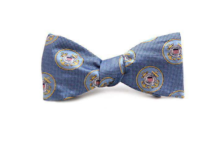 Bow Ties - U.S. Coast Guard Bow Tie In Blue By Dogwood Black