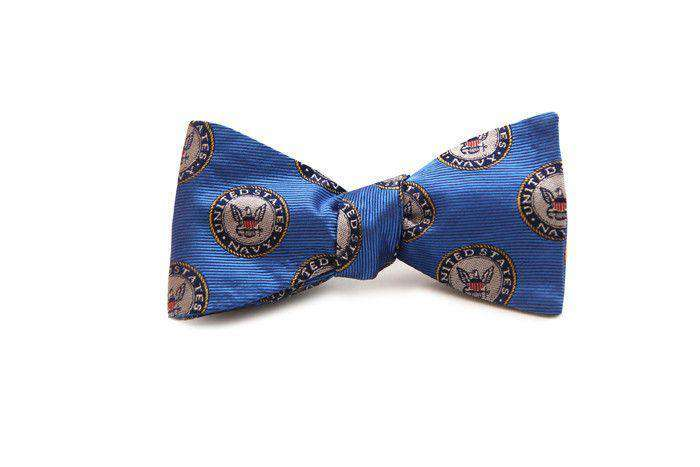 Bow Ties - U.S. Navy  Bow Tie In Blue By Dogwood Black