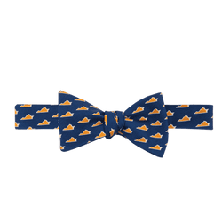 Virginia Charlottesville Gameday Bowtie in Navy by State Traditions and Southern Proper - Country Club Prep
