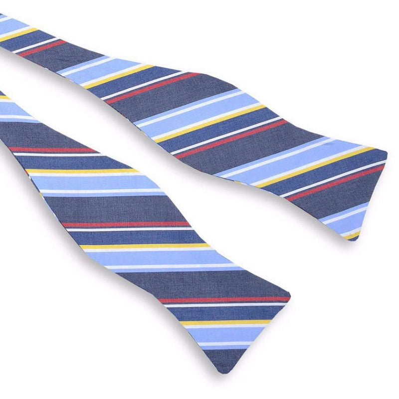 Bow Ties - Yachting Stripe Bow Tie By High Cotton