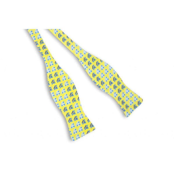 Bow Ties - Yellow Batik Bow Tie By High Cotton