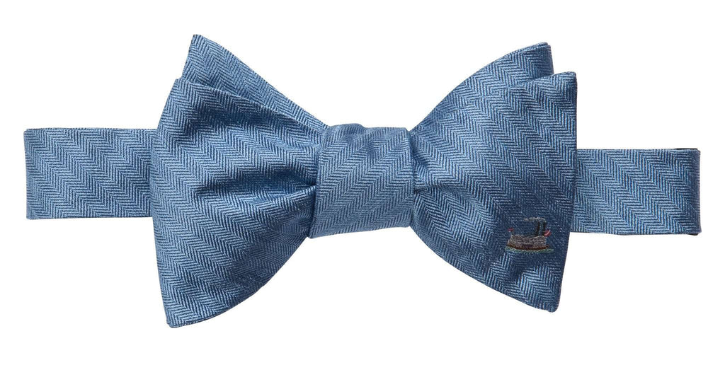 Riverboat Bow Tie in Blue by Southern Proper