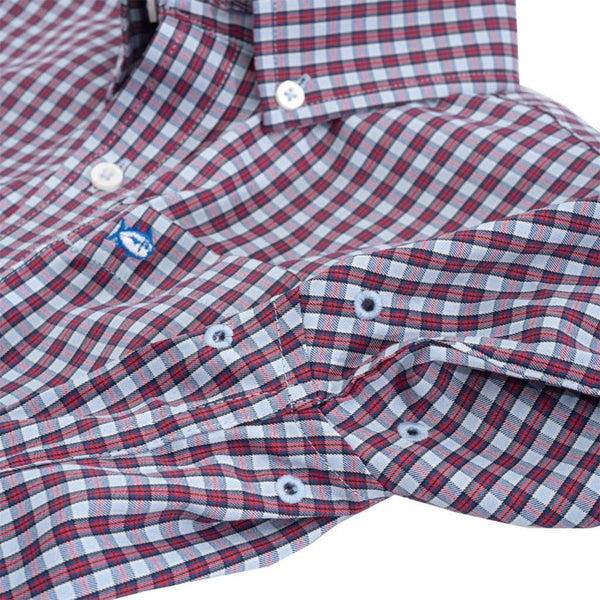 Southern Tide Boys' Bluefin Intercoastal Check Shirt by Southern Tide