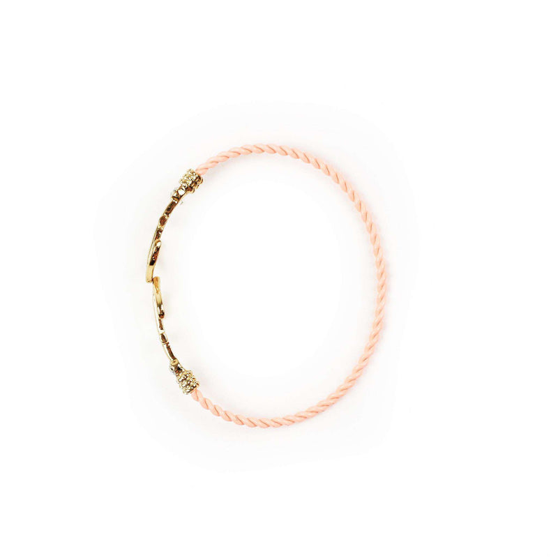 Bracelets - Anchor Bracelet In Pink By Country Club Prep