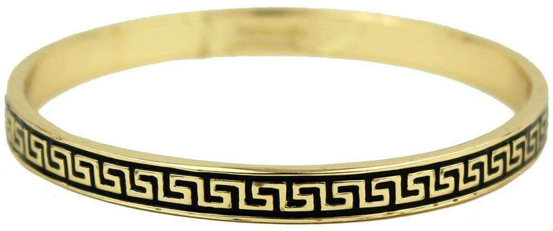 Bracelets - Apollo Bangle In Gold And Black By Fornash