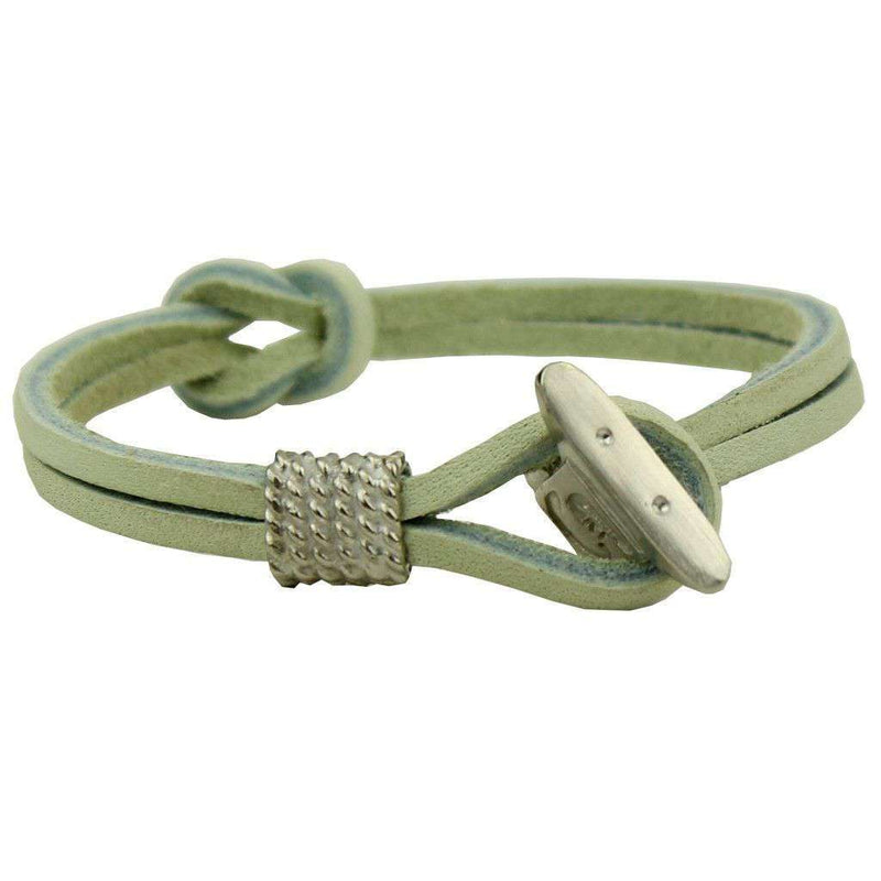 Bracelets - Boat Shoe Lace Bracelet In Pearl By Category 5 Boat Shoes