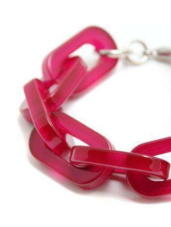 Bracelet in Hot Pink by Zenzii - Country Club Prep