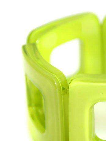 Bracelet in Lime by Zenzii - Country Club Prep