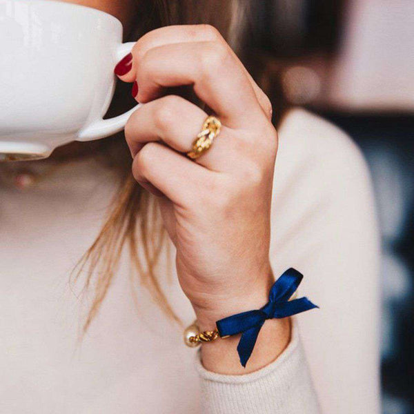 Classy Girls Wear Pearls Bracelet by Kiel James Patrick