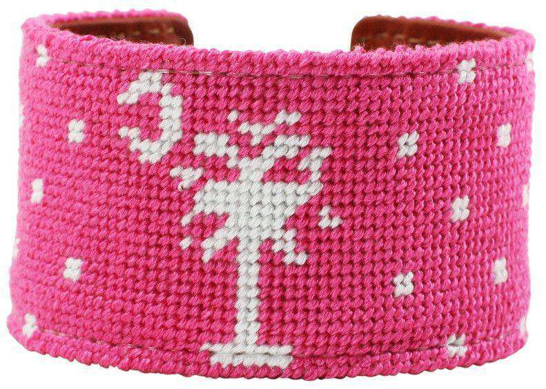 Bracelets - Gone To Carolina Needlepoint Cuff Bracelet By York Designs