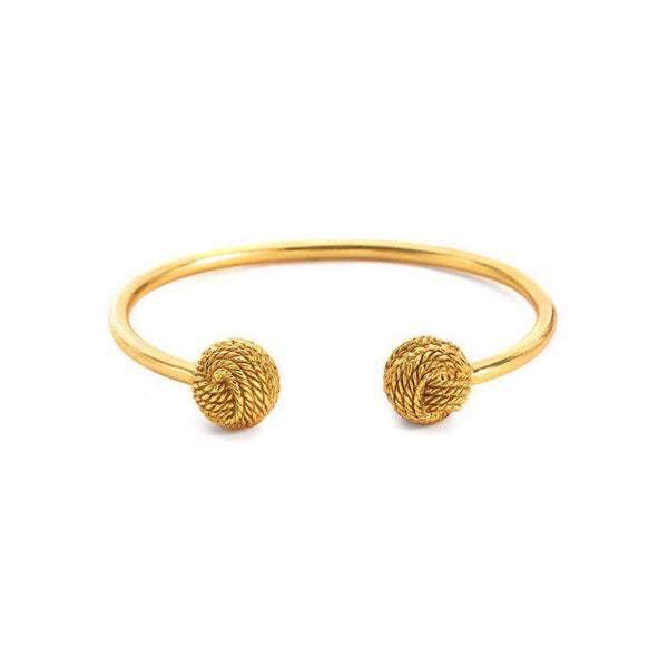 Bracelets - Harper Open Cuff In Gold By Julie Vos