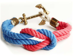 Bracelets - JFK Junior Triton Knot Bracelet By Kiel James Patrick
