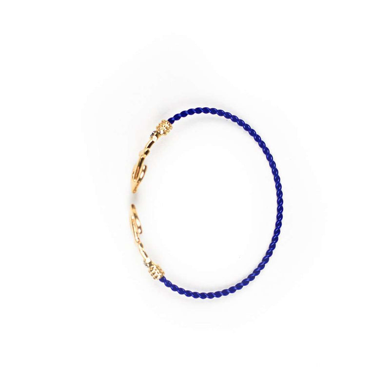Bracelets - Limited Edition Anchor Bundle In Blue By Country Club Prep