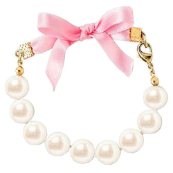 Ribbon & Pearls Bracelet by Kiel James Patrick