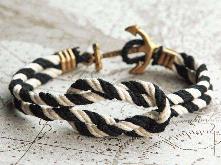 Bracelets - The Jolly Roger Triton Knot Bracelet By Kiel James Patrick