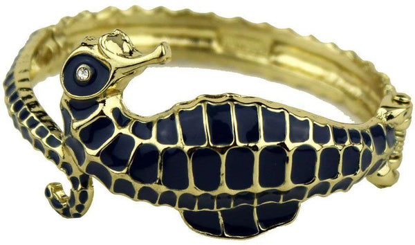 Under the Sea Bracelet in Gold and Navy by Fornash