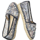 Camille Espadrille in Navy by Savi Resort Wear  - 1