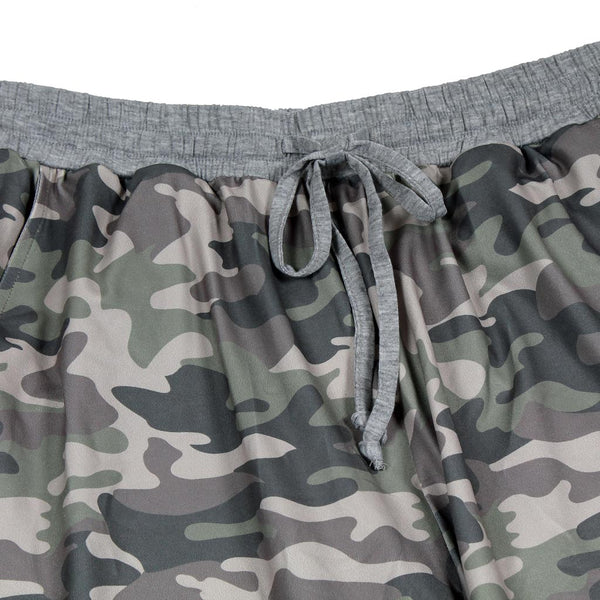 Camo Banded Joggers by Nordic Fleece