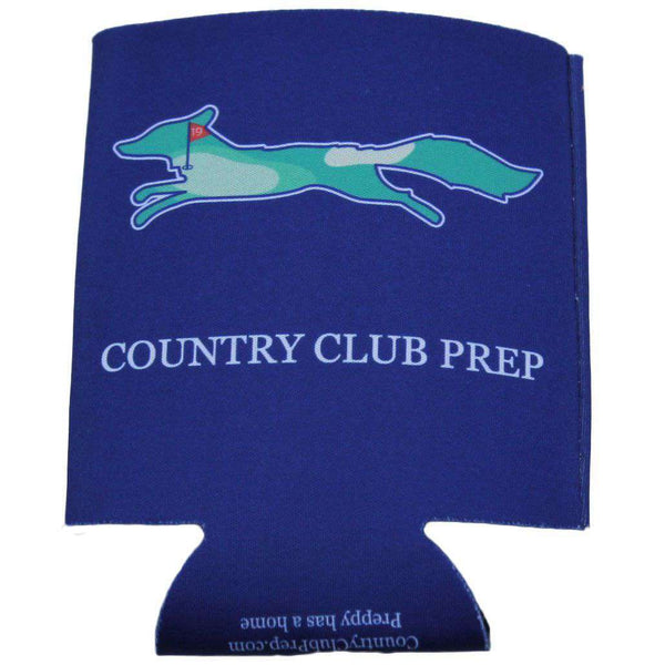 Can Holders - 19th Hole Longshanks Can Holder In Navy By Country Club Prep