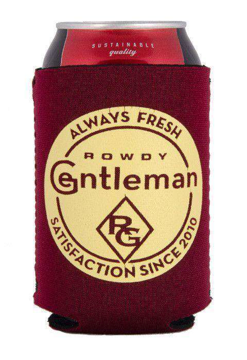 Can Holders - Always Fresh Can Holder In Garnet By Rowdy Gentleman