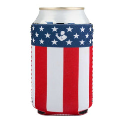 Can Holders - American Flag Beer Sleeve By Rowdy Gentleman