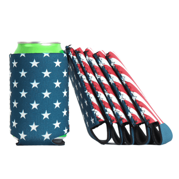 American Flag Can Holder by Collared Greens