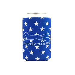Can Holders - American Flag Can Holder In Red, White & Blue By Country Club Prep