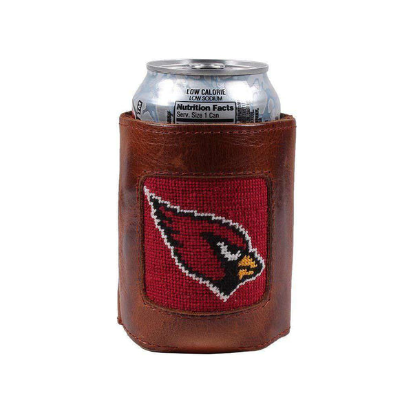 Can Holders - Arizona Cardinals Needlepoint Can Holder By Smathers & Branson