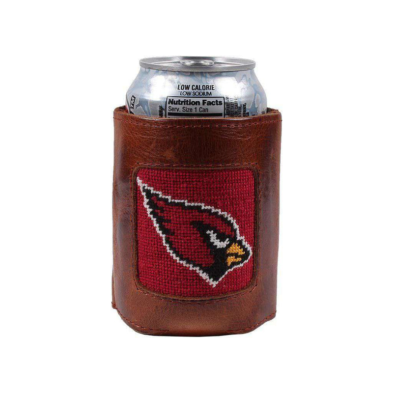 Arizona Cardinals Needlepoint Can Holder by Smathers & Branson