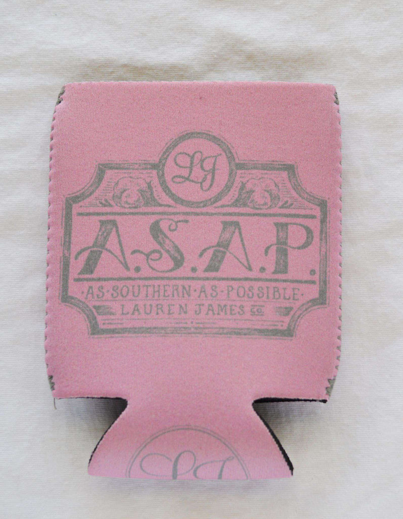 Can Holders - As Southern As Possible Can Holder In Pink By Lauren James - FINAL SALE