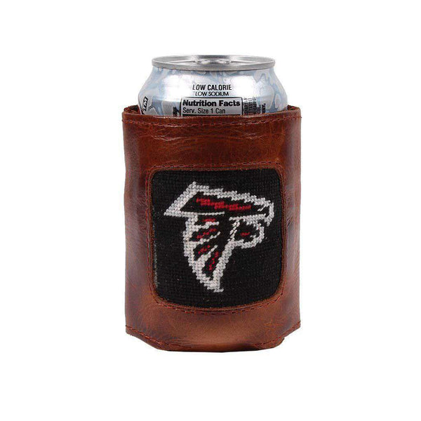 Can Holders - Atlanta Falcons Needlepoint Can Holder By Smathers & Branson