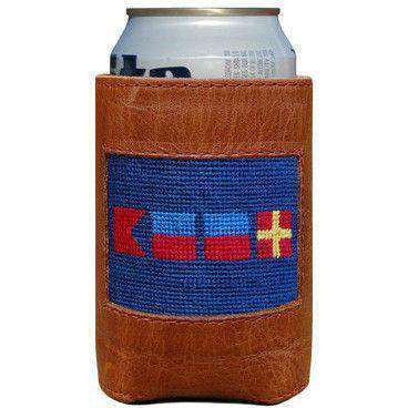 Can Holders - BEER Needlepoint Can Holder By Smathers & Branson