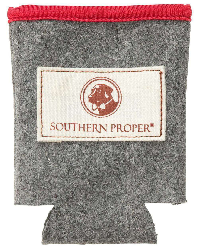 Can Holders - Beer Sweater Can Holder In Grey By Southern Proper