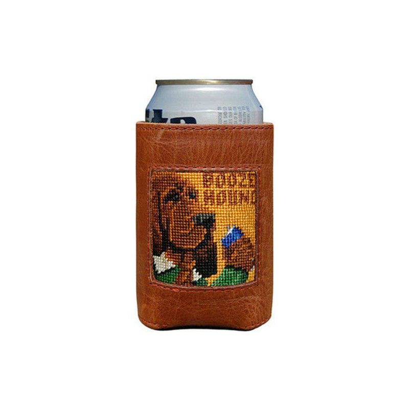Can Holders - Booze Hound Needlepoint Can Holder By Smathers & Branson