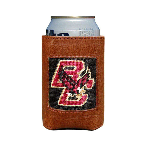 Boston College Needlepoint Can Holder by Smathers & Branson