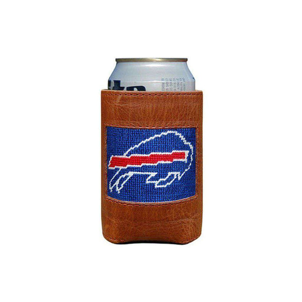 Can Holders - Buffalo Bills Needlepoint Can Holder By Smathers & Branson