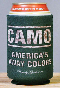 Can Holders - CAMO: America's Away Colors Can Holder In Camo By Rowdy Gentleman