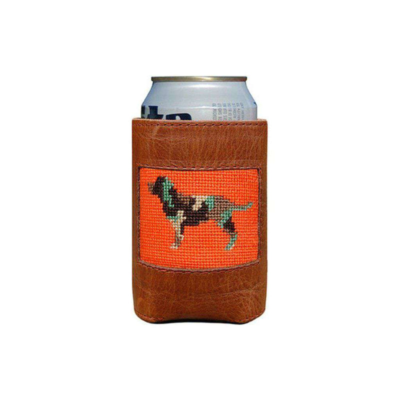 Camo Retriever Needlepoint Can Holder by Smathers & Branson